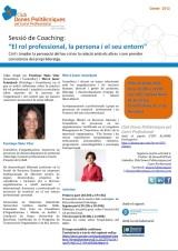 """Nova sessió de coaching: """"El rol professional, la persona i el seuentorn"""""""