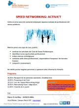"Nova activitat: ""SPEED NETWORKING,ACTIVA'T"""