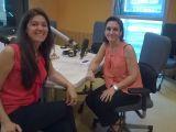 """El Club de Dones Politècniques amb la investigadora  de la UPC, Maria Pau Ginebra, convidades al programa """"Siglo 21"""" de Radio3."""