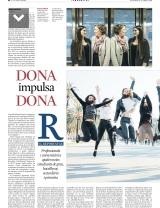 La Vanguardia del 15 d'abril entrevista una de les parelles del programaM2m